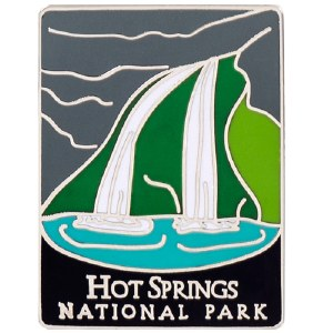 Hot Springs NP Traveler Pin