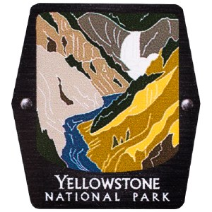 Yellowstone NP Trekking Pole Decal