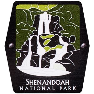 Shenandoah NP Trekking Pole Decal