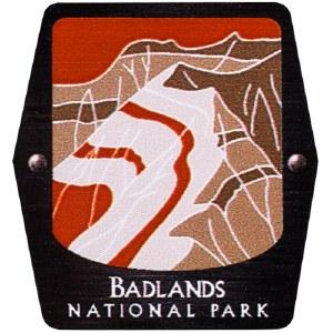 Badlands NP Trekking Pole Decal