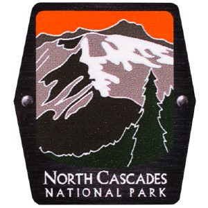 North Cascades NP Trekking Pole Decal