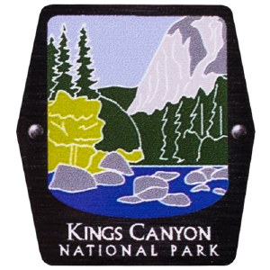 Kings Canyon NP Trekking Pole Decal