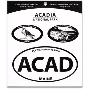 Acadia NP Triple Decal