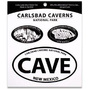 Carlsbad Caverns NP Triple Decal