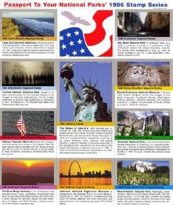 1986 Passport® Stamp Set
