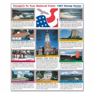 1987 Passport® Stamp Set