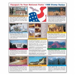 1988 Passport® Stamp Set