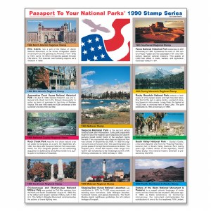 1990 Passport® Stamp Set
