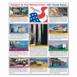 1991 Passport® Stamp Set