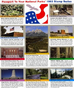 1993 Passport® Stamp Set