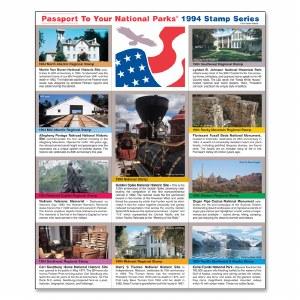 1994 Passport® Stamp Set