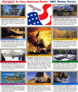 1997 Passport® Stamp Set