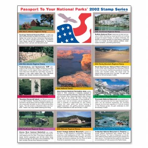 2002 Passport® Stamp Set