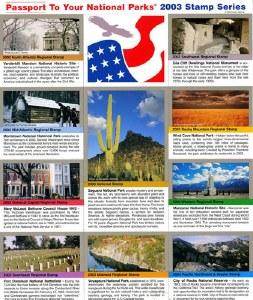 2003 Passport® Stamp Set