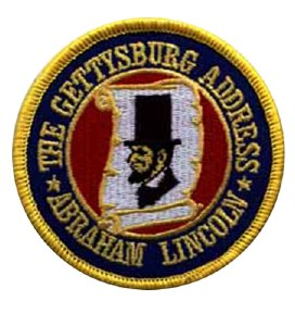 Gettysburg Address Patch