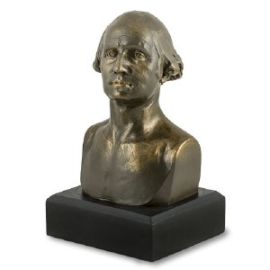 George Washington Bronze Bust