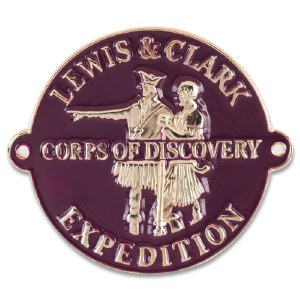 Lewis and Clark Corps of Discovery Hiking Medallion