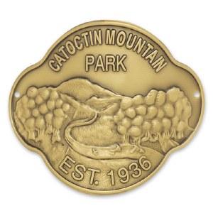 Catoctin Mountain Park Hiking Stick Medallion