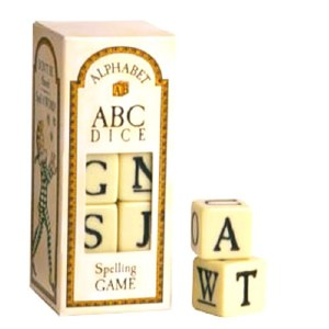 Alphabet ABC Dice Spelling Game