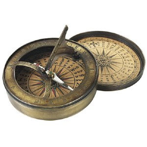 18th-Century Sundial and Compass