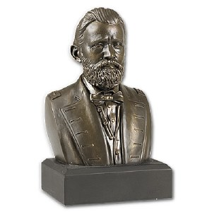 Ulysses S. Grant Bronze Bust