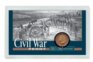 Indian Cent Civil War Coin