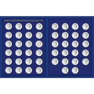 JFK Half Dollar Collection Deluxe Portfolio