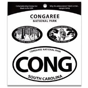 Congaree NP Triple Decal