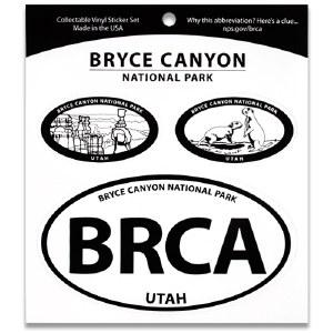 Bryce Canyon NP Triple Decal