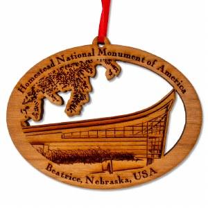 Homestead National Monument Ornament