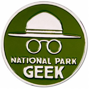 National Park Geek Pin