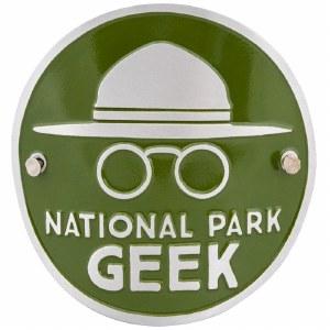 National Park Geek Hiking Medallion