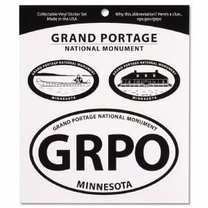 Grand Portage 3 Decal Set