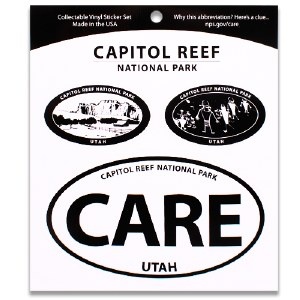 Capitol Reef NP Triple Decal