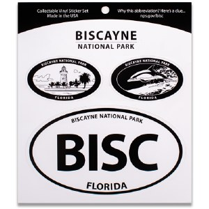 Biscayne NP Triple Decal