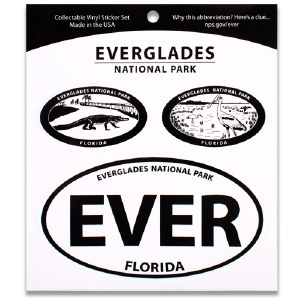 Everglades NP Triple Decal
