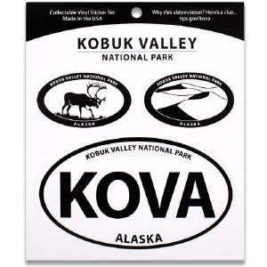 Kobuk Valley NP Triple Decal
