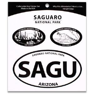 Saguaro NP Triple Decal
