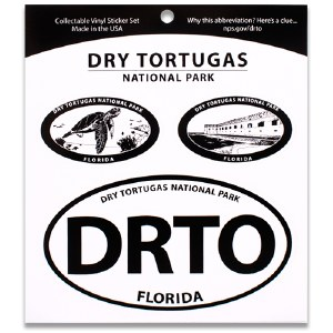 Dry Tortugas NP Triple Decal
