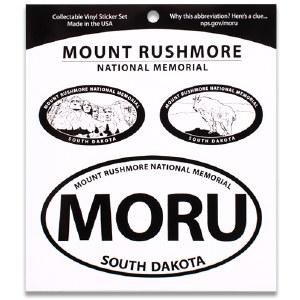 Mount Rushmore NM Triple Decal