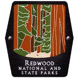 Redwood National and State Parks Trekking Pole Decal