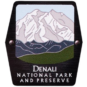 Denali NP Trekking Pole Decal