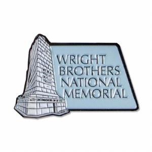 Wright Brothers Memorial Lapel Pin