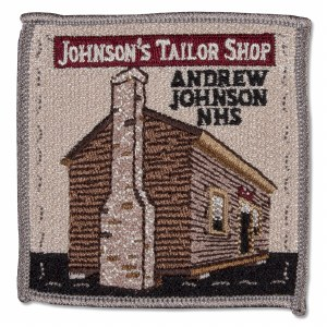 Andrew Johnson Tailor Shop Patch