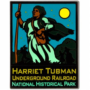ANP Harriet Tubman Underground Railroad Pin