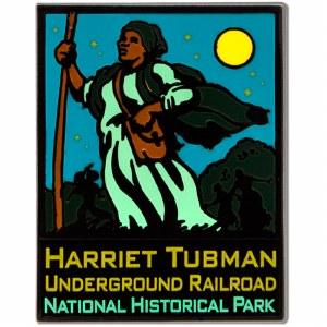 ANP Harriet Tubman Underground Railroad Pin