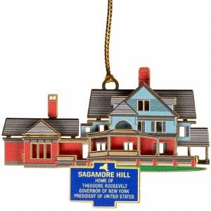 Sagamore Hill 3D Ornament