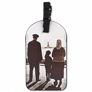 Ellis Island Immigrants Luggage ID Tag
