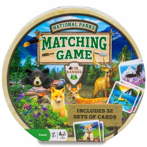National Parks Matching Game
