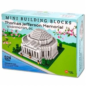 Jefferson Memorial Mini Blocks